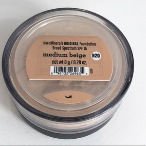 bareMinerals Makeup - Bare Minerals Medium Beige Foundation N20 0.28 Oz